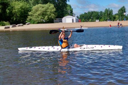 Petrie Island Canoe Club Regatta Ready Program Participant