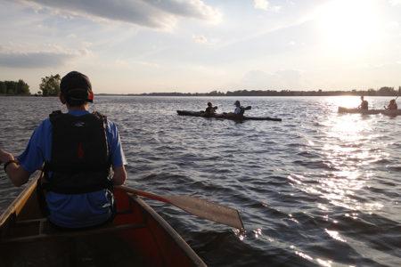 Paddling on the Ottawa River