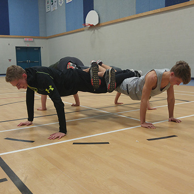 4 Person Push-Up