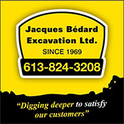 Bedard Excavation Logo